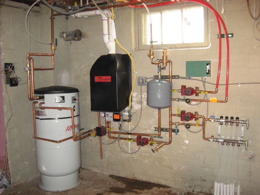 Sıcak Su Boyler (boiler) Sistemi Yapılır